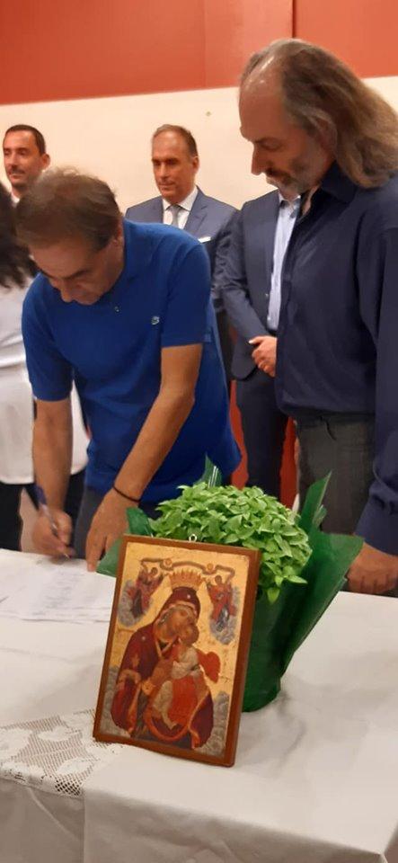 Ορκωμοσία Δάφνης Υμηττού Πολίτες σε Κίνηση Δάφνης Υμηττού